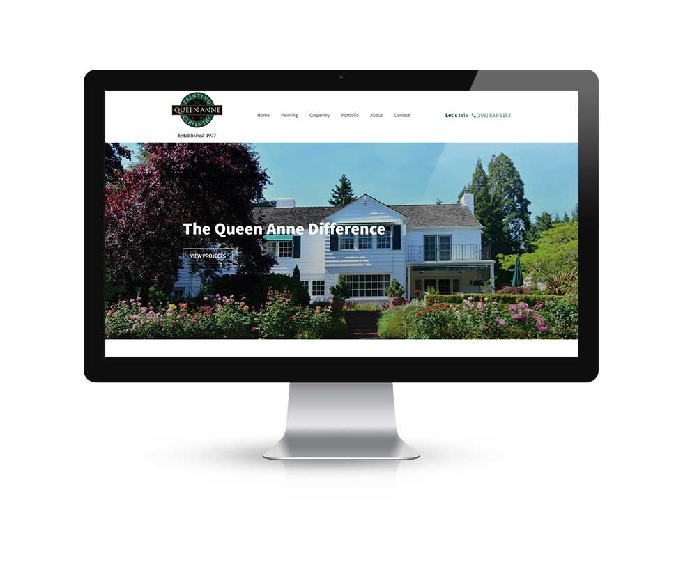 Queen Anne Painting Home Page