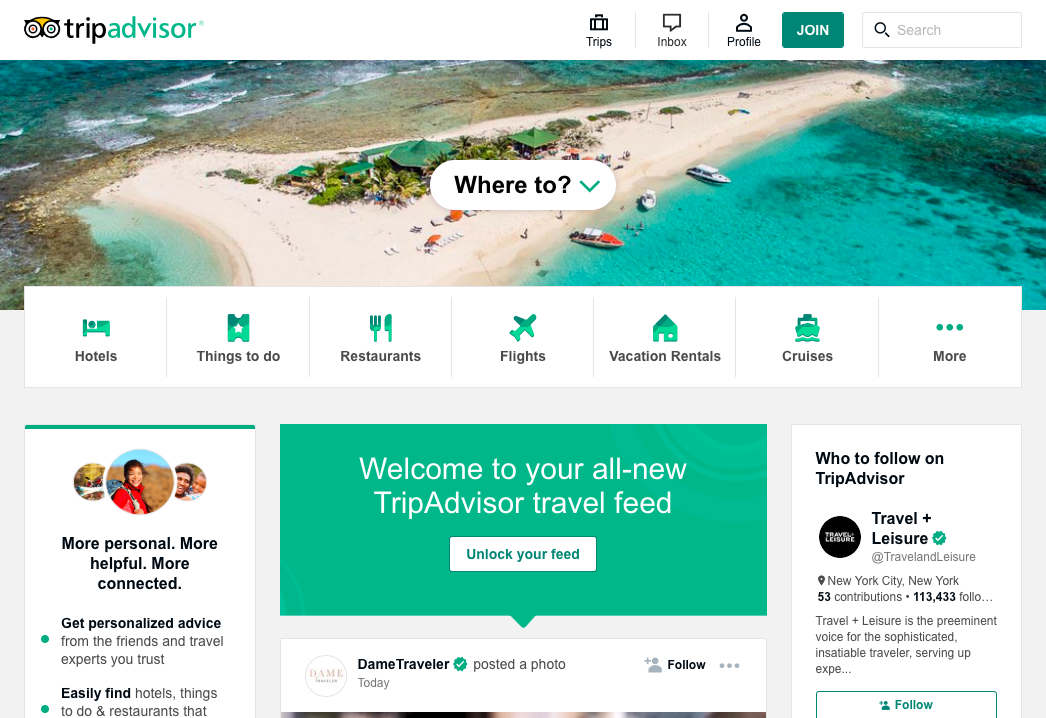 Trip Advisor is Built on Drupal from Bear Group's Bear Ideas Blog