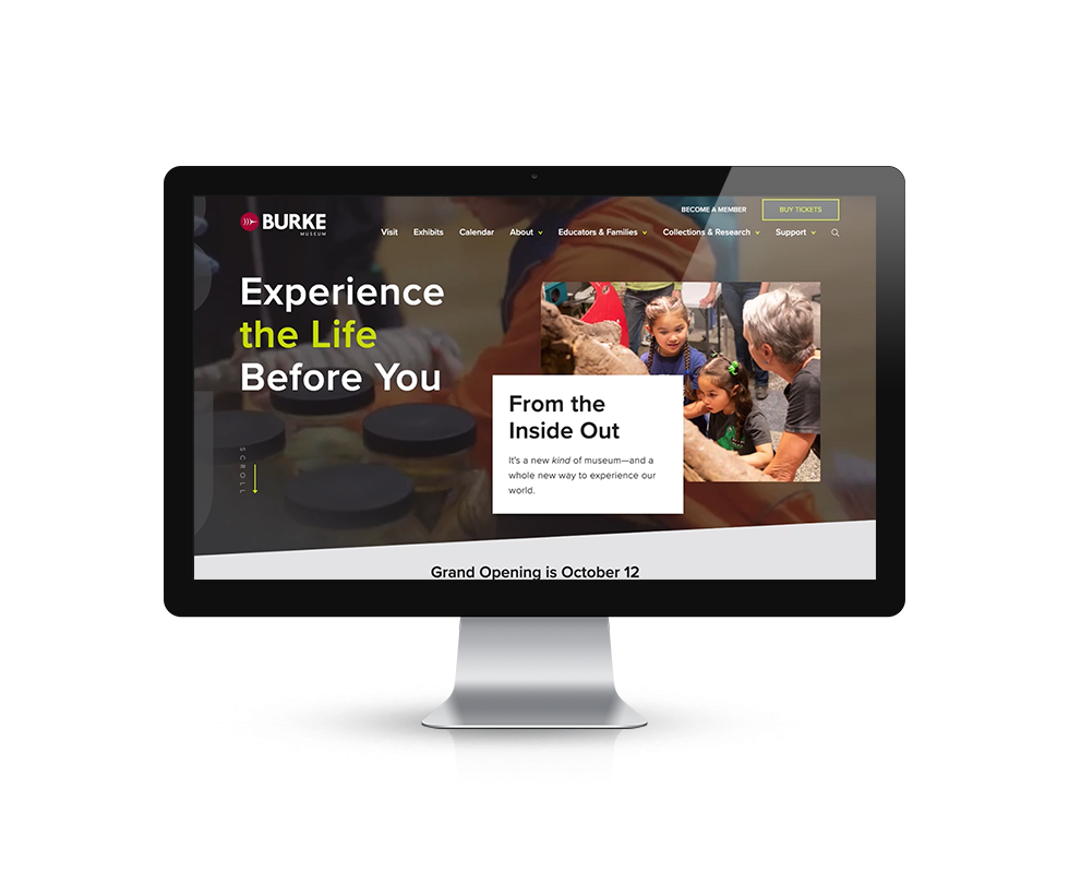 Burke Museum | Bear Group Web Development