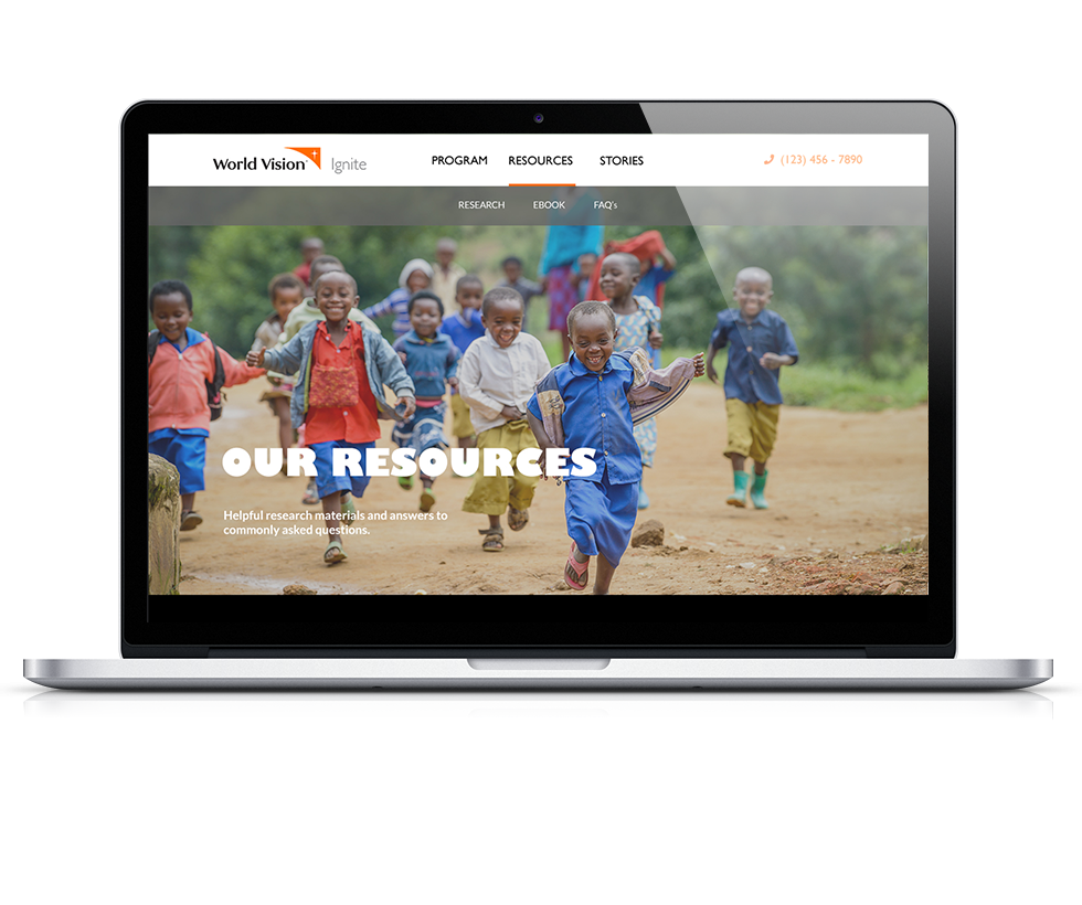World Vision Ignite Resources